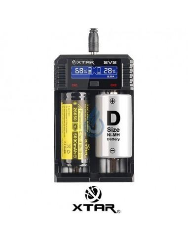 Cargador XTAR SV2
