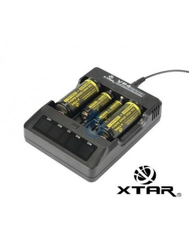Cargador XTAR VP4