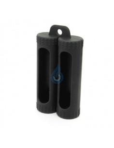 Funda Silicona para 2 baterías 18650
