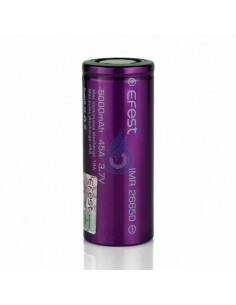 Batería Efest 26650 IMR (5000mAh - 45A)