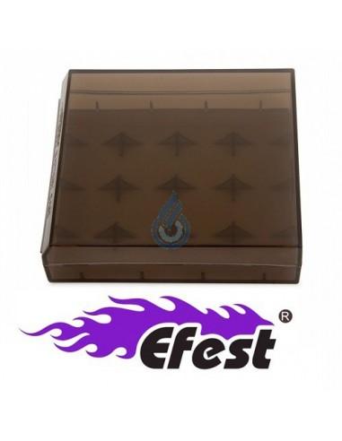 Caja H4 para baterías 18650 de Efest