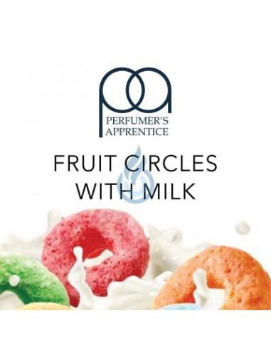 Aroma Fruit Circles with Milk TPA